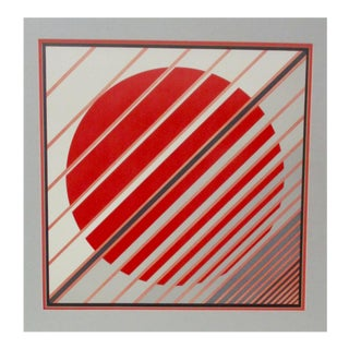 Parviz Zargarpoor Op Art Print For Sale