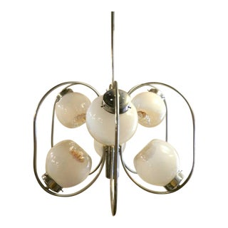 Mid-Century Modern Italian Chandelier by A. V. Mazzega For Sale