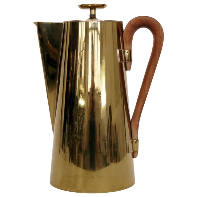 Tommi Parzinger Brass Pitcher For Sale
