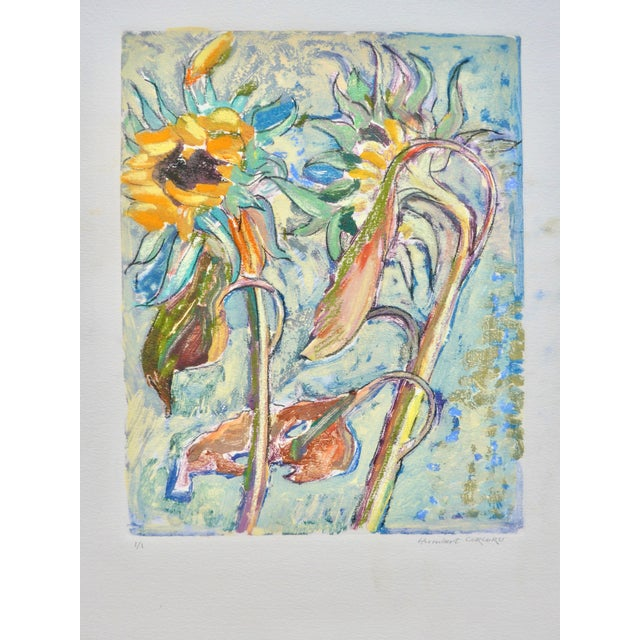 Abstract Sunflowers For Sale - Image 3 of 8