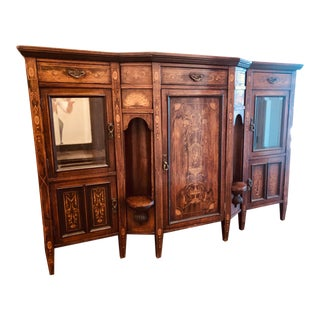Italian Marquetry Sideboard in the Style of Giuseppe Maggiolini For Sale