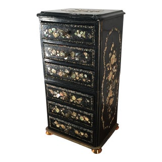 Mother of Pearl Jewelry Chest