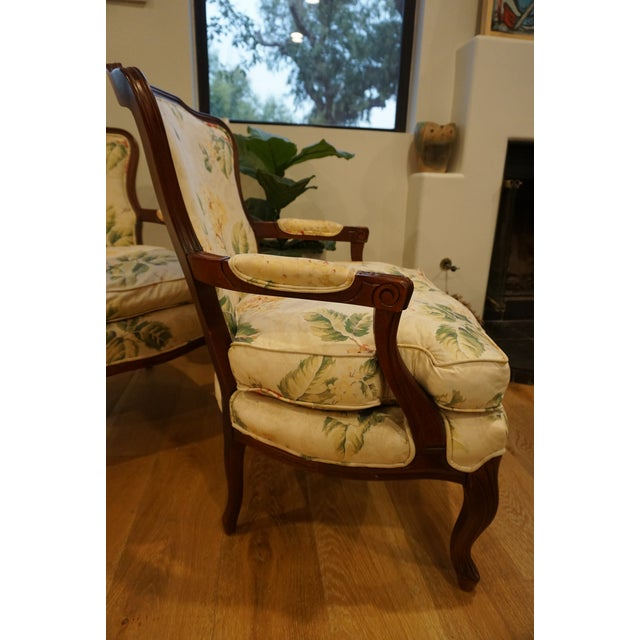 French 1980s Vintage French Berger Chairs- A Pair For Sale - Image 3 of 11