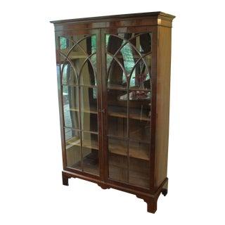 19th Century Georgian Mahogany Bookcase For Sale