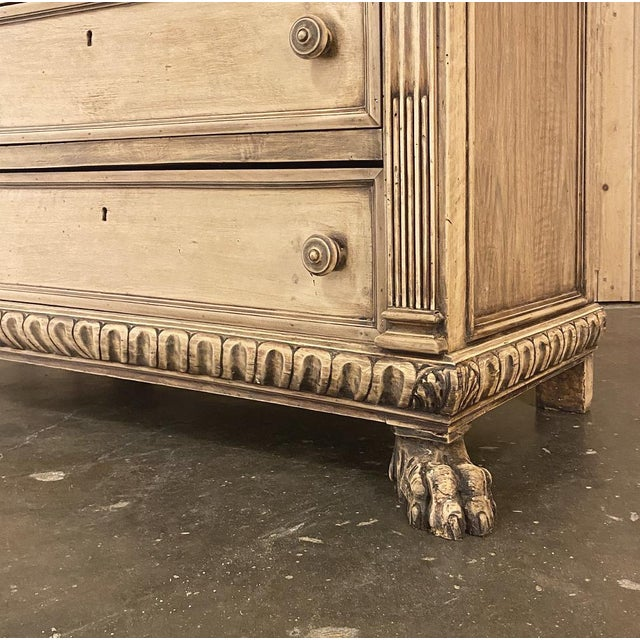 Antique Italian Renaissance Stripped Walnut Commode For Sale - Image 12 of 13