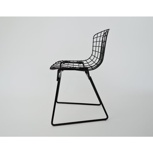 Florence Knoll 1960s Mid-Century Modern Harry Bertoia for Knoll Child Chair For Sale - Image 4 of 9