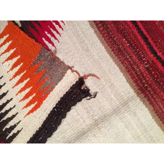 "Antique 1930s Navajo Rug - 2'4"" X 3'6"" For Sale - Image 7 of 7"