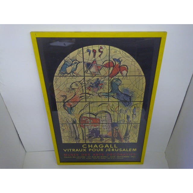 Chagall Print, Vitraux Pour Jerusalem For Sale - Image 5 of 6