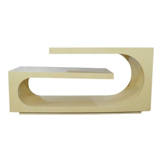 1980s Sculptural Console, Milo Baughman For Sale