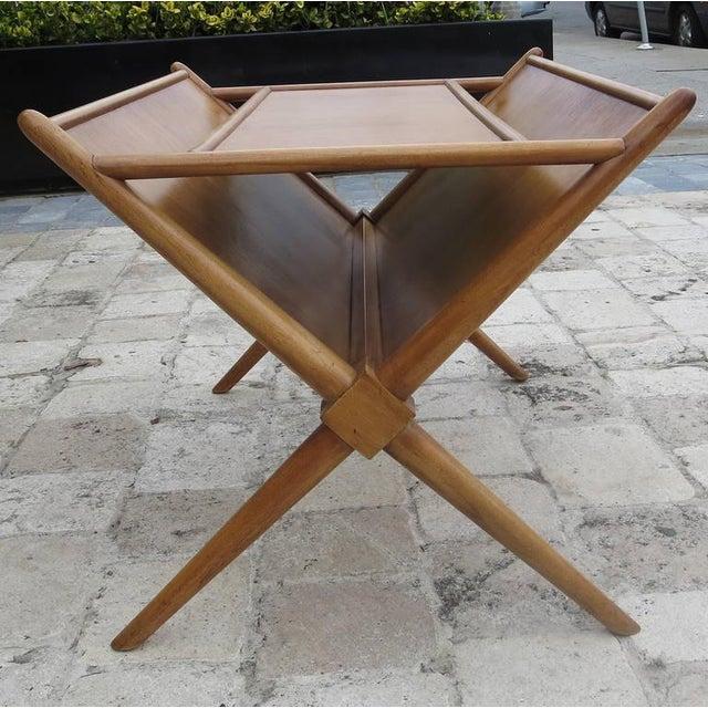 Mid-Century Modern t.h. Robsjohn-Gibbings Magazine Table Widdicomb For Sale - Image 3 of 7