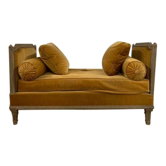 Early 18th Century Swedish Neoclassical Daybed For Sale