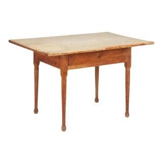 Antique American Pine Farm Table