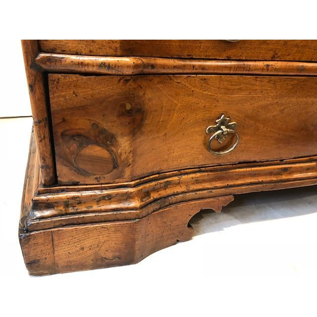 Antique Four-Drawer Walnut Commode, Italy, Circa 18th Century For Sale In New York - Image 6 of 7