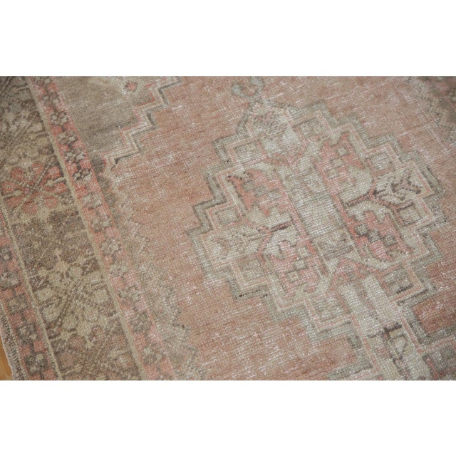 """Distressed Oushak Rug - 3'7"""" X 6'3"""" For Sale - Image 10 of 11"""