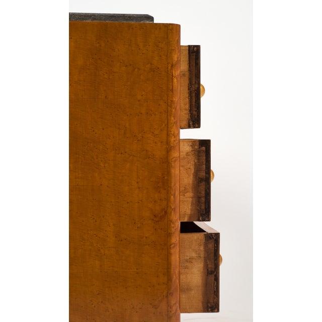 Art Deco Period Bird's-Eye Maple Dresser - Image 9 of 10