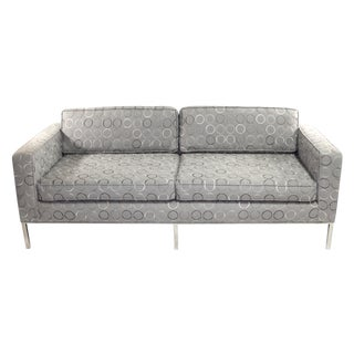 Fabulous Mid Century Couch With Chrome Legs For Sale