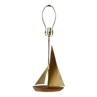 """Mid Century""""Sail Boat"""" Desk Lamp For Sale"""