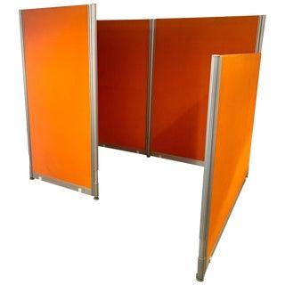 Herman Miller Mid Century Orange Cubical For Sale