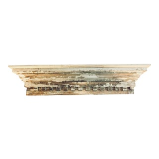 Antique Greek Revival Entrance Mantel For Sale