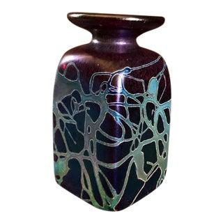 Robert Held Art Glass Vase, Signed For Sale