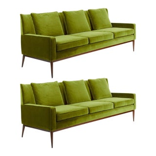 Paul McCobb Wingback Sofa, 1955 For Sale