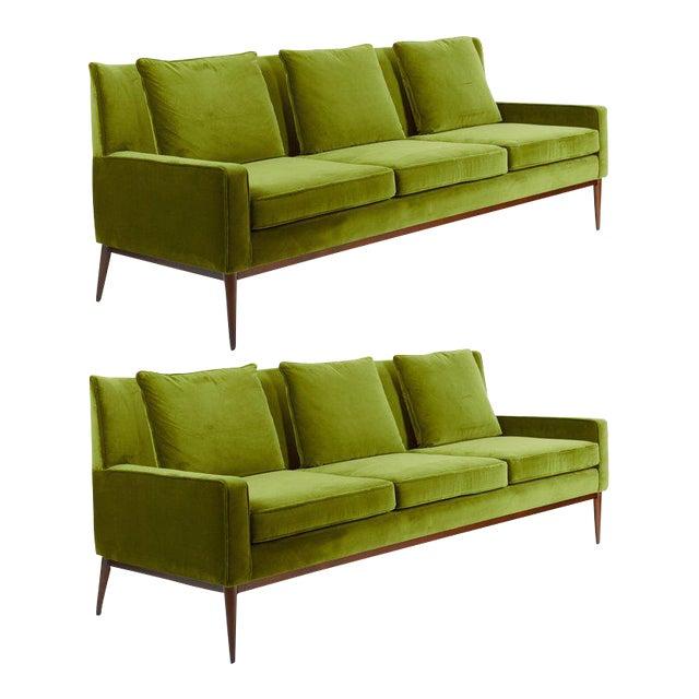 Paul McCobb Wingback Sofa, 1955 For Sale