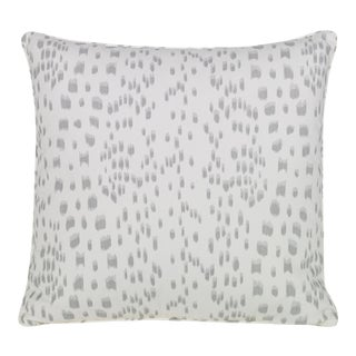 Curated Kravet Les Touches Pillow - Gray For Sale