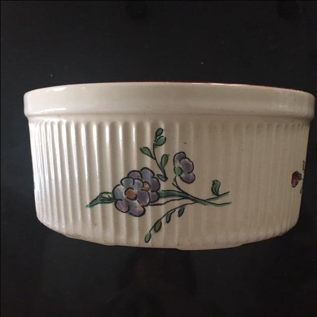 Vestal Porcelain Souffle Bowl - Image 4 of 7