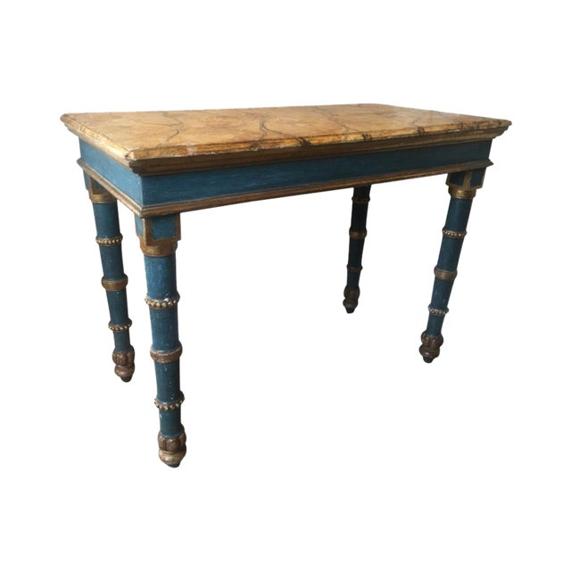 18th Century Italian Painted Table For Sale