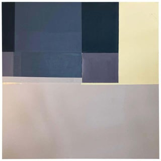 Robert English, Large Minimalist Abstract Color Field Painting (B), Early 1990s For Sale