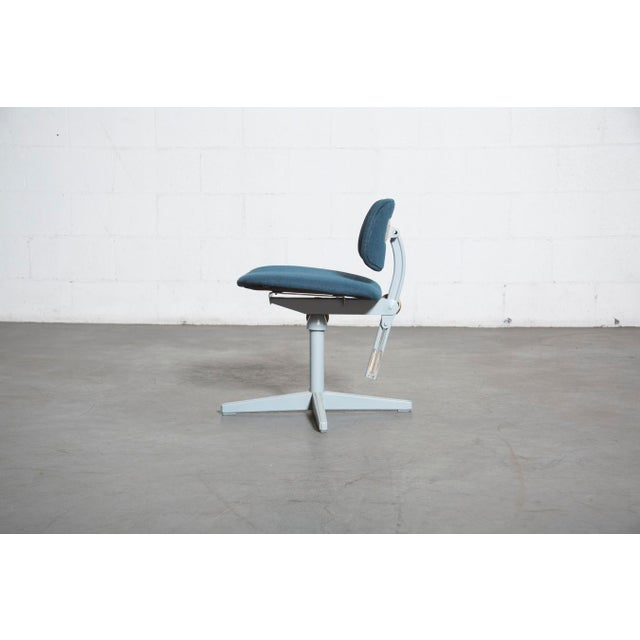 Friso Kramer Newly Upholstered Drafting Chair - Image 7 of 11