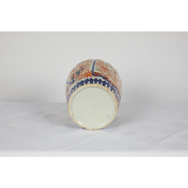 Blue Early 20th Century Japanese Imari Vase For Sale - Image 8 of 12