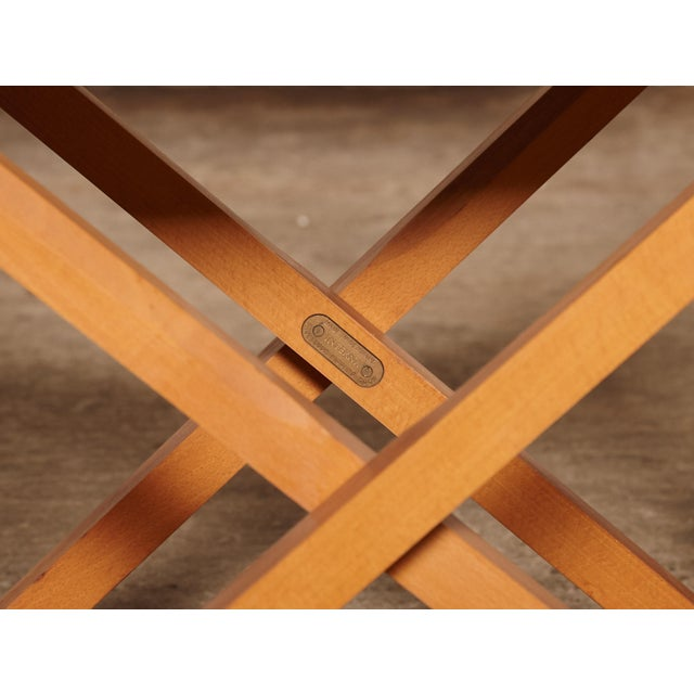 1960s Vinage Mogens Koch Mk-16 Safari Chair for Interna, Denmark For Sale In Philadelphia - Image 6 of 7