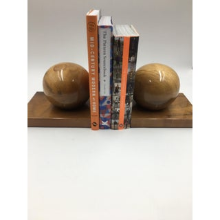 Vintage Myrtle Wood Bookends - a Pair Preview