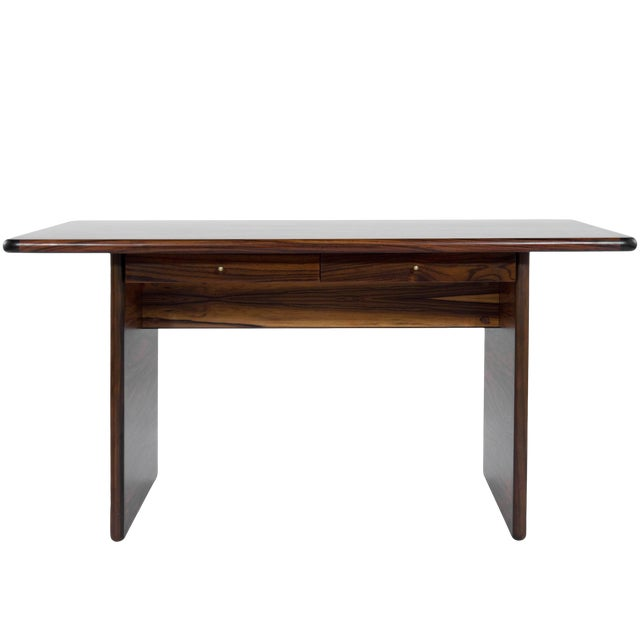 Danish Modern Rosewood Desk For Sale