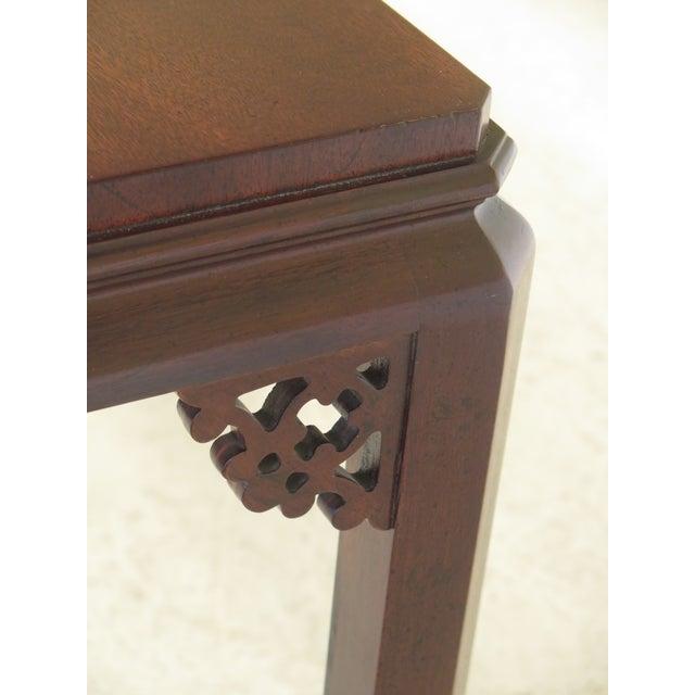 Terrific Henredon Asian Influenced Mahogany Sofa Table Andrewgaddart Wooden Chair Designs For Living Room Andrewgaddartcom