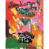 Image of Framed Picasso Poster Oil Painting by Sean Kratzert 'Picnic' For Sale