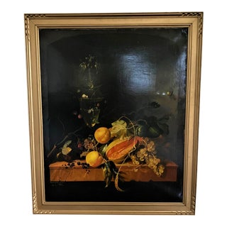 Franciszek Kulon Original Still Life Oil Painting For Sale