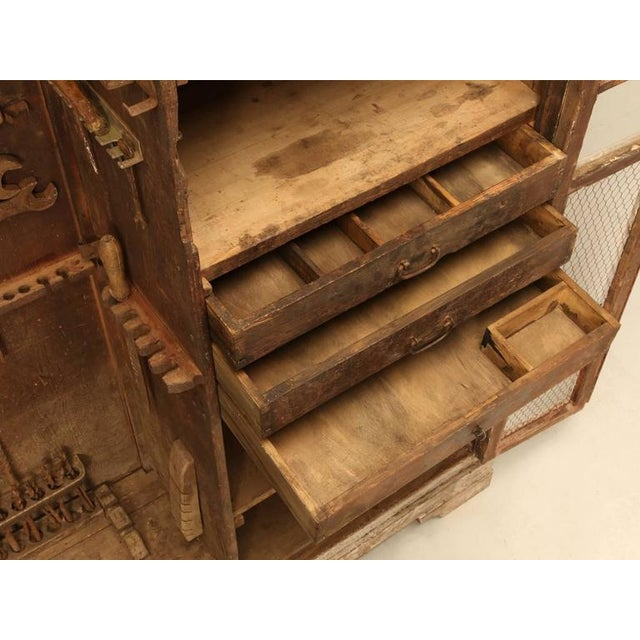 Metal Original Paint Italian Boatyard Cabinet For Sale - Image 7 of 10