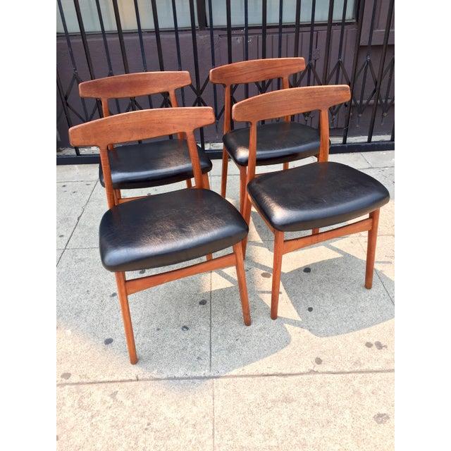 Bruno Hansen Danish Modern Chairs - Set of 4 - Image 8 of 9