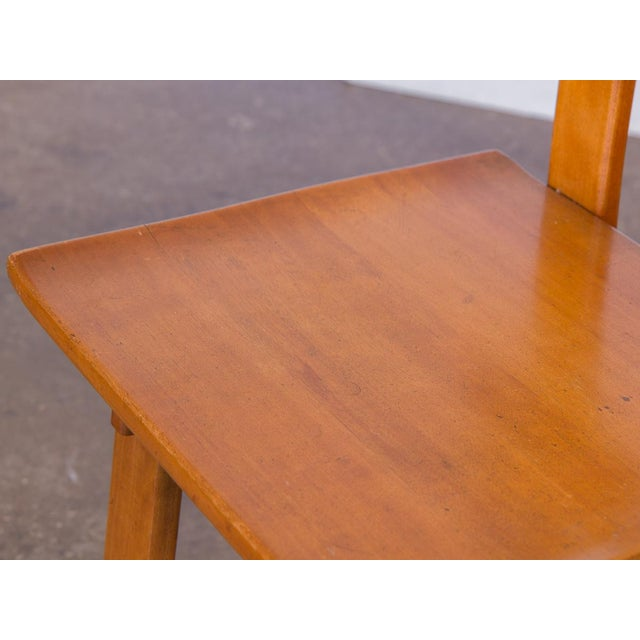 Lacquer 1935 Russel Wright American Modern Side Chair For Sale - Image 7 of 11