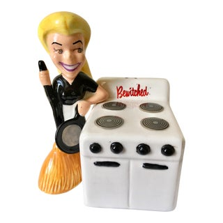 Bewitched Salt & Pepper Shakers - A Pair