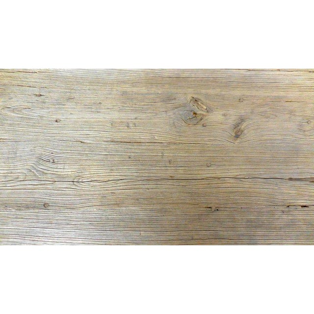 Northern Japanese Elm Cocktail Table For Sale - Image 9 of 10