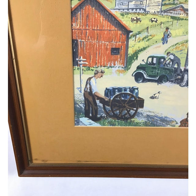 Lovely colorful and vibrant work by the late Harry Shokler. (1896-1978) 16.5 x 12.5: Actual painting size without frame ....