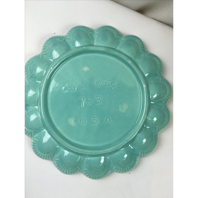 Mid-Century Ceramic Deviled Egg Plate - Image 5 of 6
