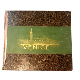 """Venice, 1889"" Illustrated Hardcover Book For Sale"