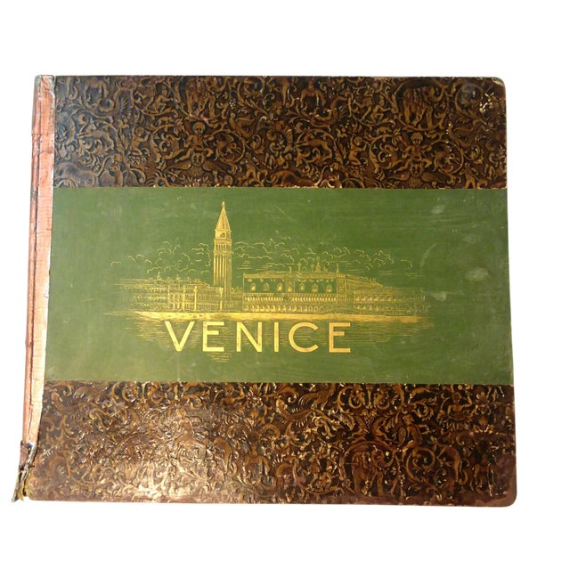 """""""Venice, 1889"""" Illustrated Hardcover Book For Sale"""