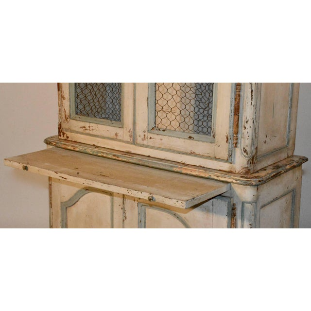 19th Century Country French Wire Front Cupboard For Sale In Nashville - Image 6 of 11
