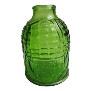 Wheaton Glass Corn Apothocary Jar