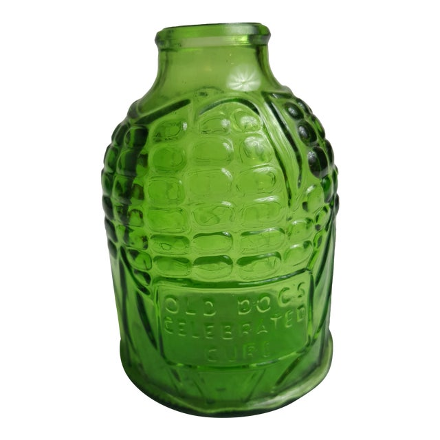 Wheaton Glass Corn Apothocary Jar For Sale